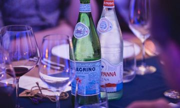 Water&Wine Tasting Acqua Panna San pellegrino