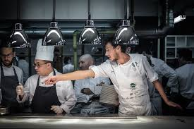 "I Memorabili ""St Hubertus *** Michelin Sous Chef Michele Lazzarini & Restaurant Manager Lukas Gerges"""