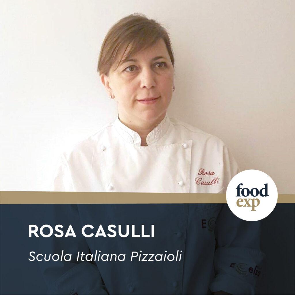 Pizza Chef Rosa Casulli