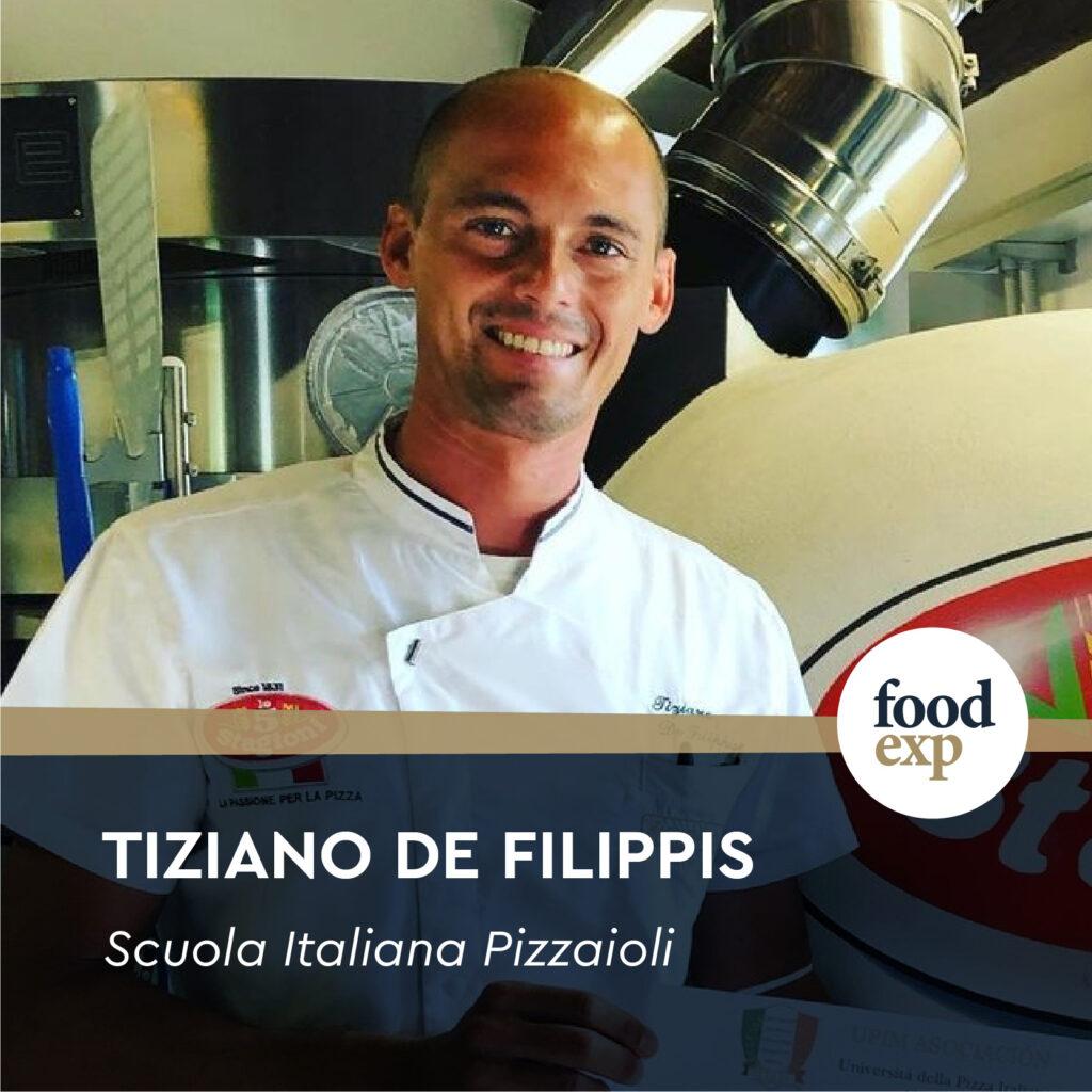 Pizza Chef Tiziano De Filippis